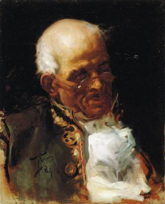 Joaquin Sorolla (Soroya). Portrait Caballero