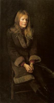 "Andrew Wyeth. Sheepskin (from the series ""Helga"")"