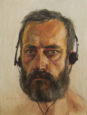 David Shikovich Brodsky. Self-portrait