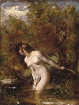 Etty William. Musidora-bather