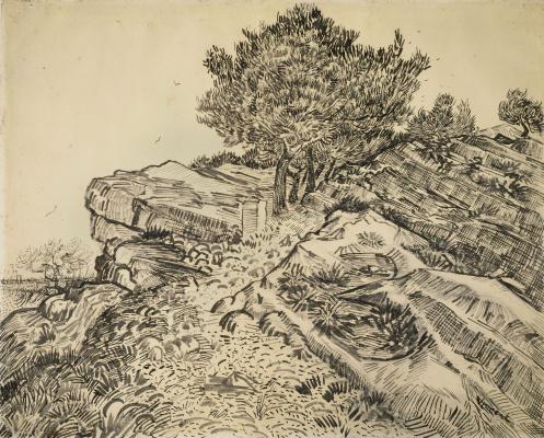 Vincent van Gogh. Rock