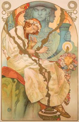 Alphonse Mucha. The Slav epic