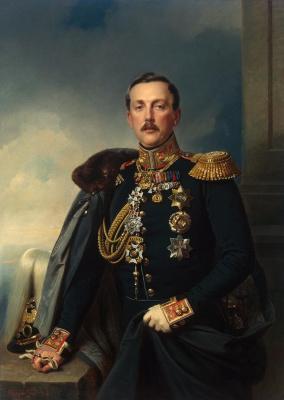 Франц Крюгер. Портрет Александра Аркадьевича Суворова