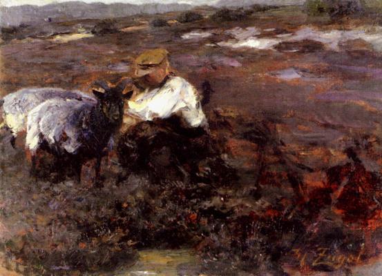 Генрих фон Цюгель. Скотный двор
