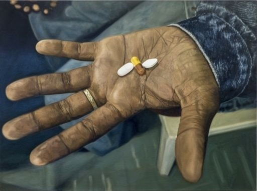 Дэмиен Херст. Набор лекарств против ВИЧ/СПИДа