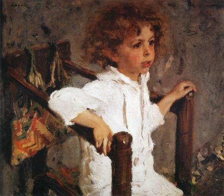Valentin Aleksandrovich Serov. Mika Morozov. Portrait of Mikhail Mikhailovich Morozov