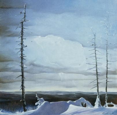 Василий Коркишко. White night