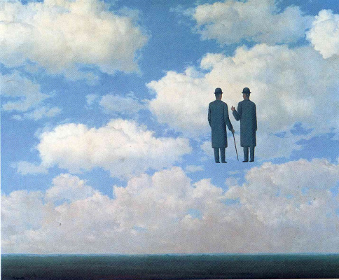 René Magritte. Endless recognition