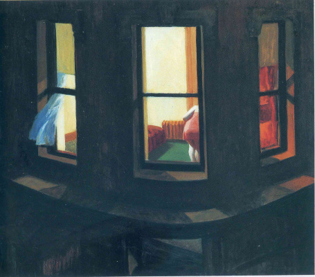 Edward Hopper. Night window