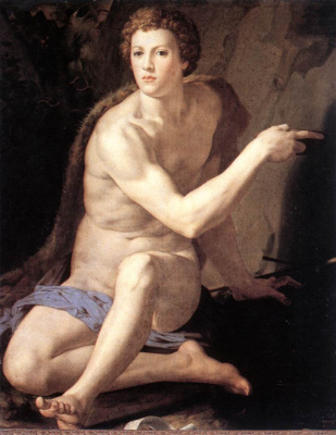 Agnolo Bronzino. St. John the Baptist