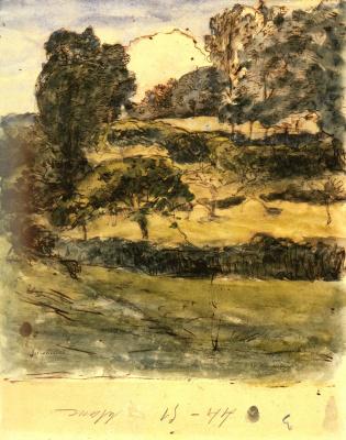 Jean-François Millet. Normandy Pastures