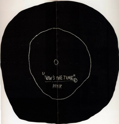 Jean-Michel Basquiat. The moment