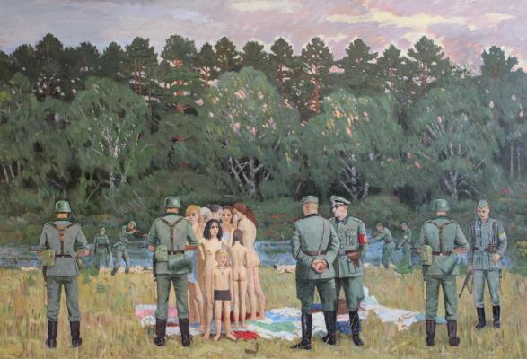 Eugene Alexandrovich Kazantsev. (The Barbarossa plan) Einsatz team.