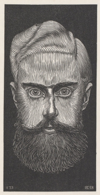 Maurits Cornelis Escher. Self-portrait