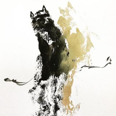 Daria Teplova. March cats