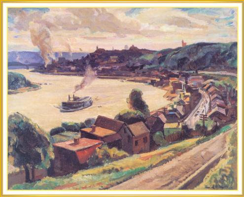 Франк Хармон Майерс. Река Огайо