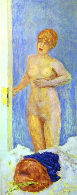 Pierre Bonnard. The girl in the room