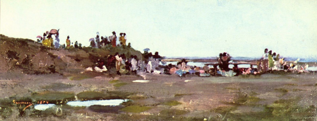 Nicolae Grigorescu. On the waterfront Sira