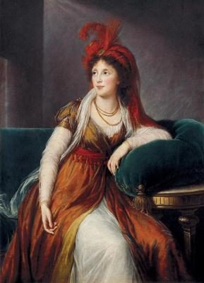 Элизабет Виже-Лебрен. Портрет княгини Анны Александровны Голицыной
