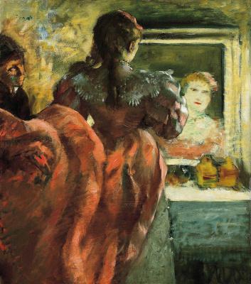 Эдгар Дега. Актриса в своей гримерке