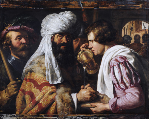 Jan Lievens. Pilate washes his hands