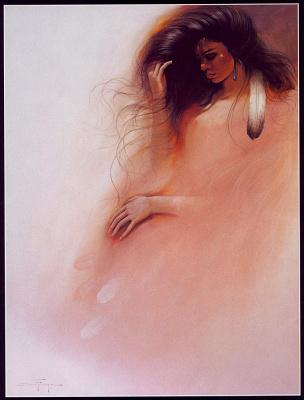 Франка Озз. Навахо в розовом