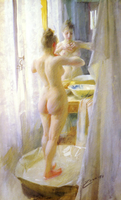 Anders Zorn. Bath