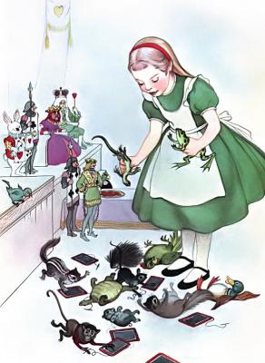 Marjorie Torrey. Alice in Wonderland
