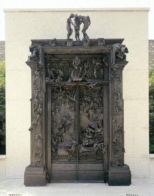 Auguste Rodin. The gates of hell