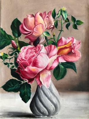 Елена Горшкова. Цветы в вазе