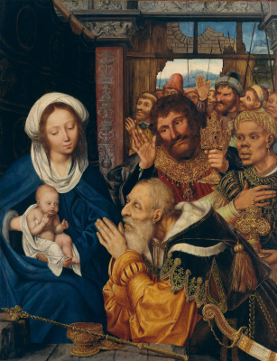 Quentin Masseys. Adoration of the Magi