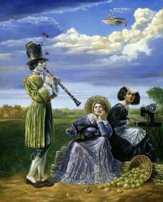 Mikhail Khokhlochev. Vesper blues