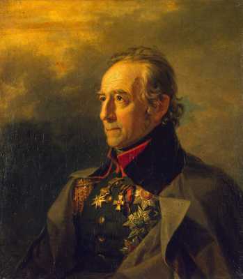 George Dow. Portrait of Peter Kornilievich Sukhtelen