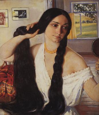 Zinaida Yevgenyevna Serebriakova. Portrait Of Olga Konstantinovna Lancer