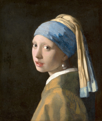 Jan Vermeer. Girl with a pearl earring