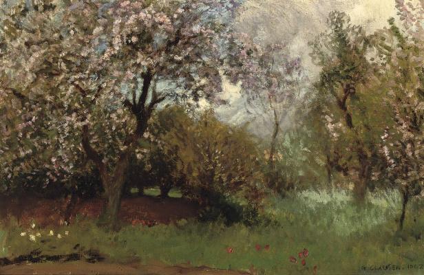 George Clausen. Spring