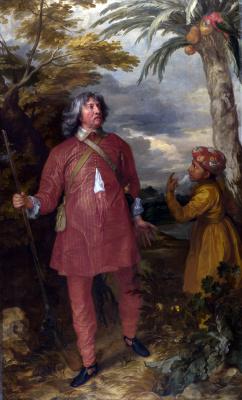 Anthony van Dyck. William Fielding, 1st Earl of Denbigh