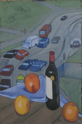 Sergey Vitalievich Chertov. Wine and oranges