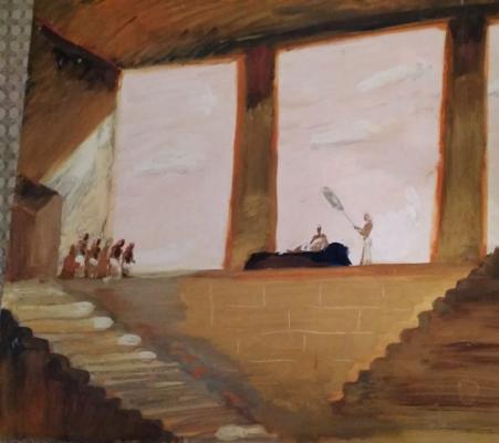 Simon Bagratovich Versaladze. Theater sketch