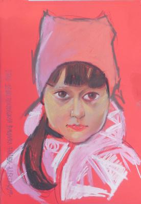 Стас Сергеевич Волостных. Portrait of a girl