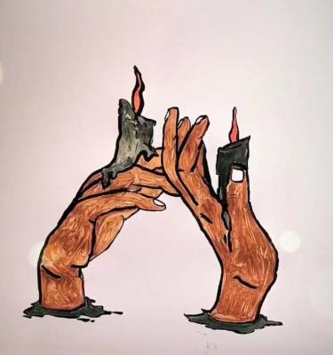Unknown artist. Don't burn