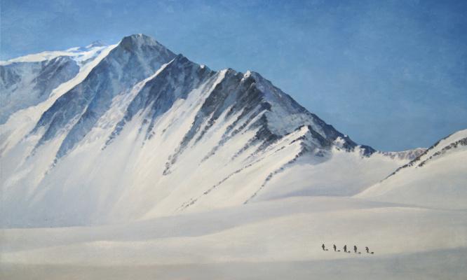 Alan Albegov. Massif Vinson 2