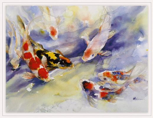 Чжэнь Лин-Куан. Рыбки