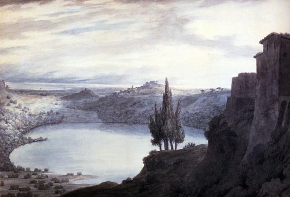 Джон Роберт Козенс. Озеро