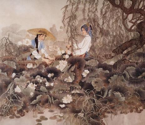 Пэн Лиан Сюй. Китаянка 23