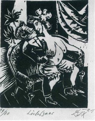 Otto Dix. Lovers