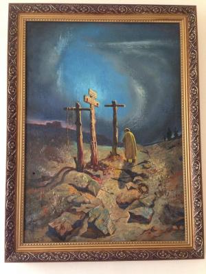 Khachatur Aramovich Karabekyan. ,, Crucifixes ,,