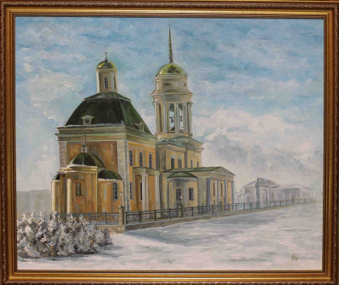 Margarita Vadimovna Pichugina. Holy Trinity Cathedral