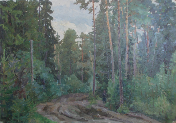 Nina Vasilievna Sedova. Forest Road