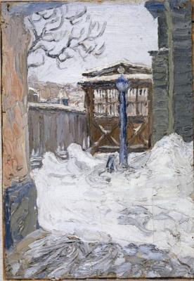 Степан Григорьевич Писахов. Courtyard